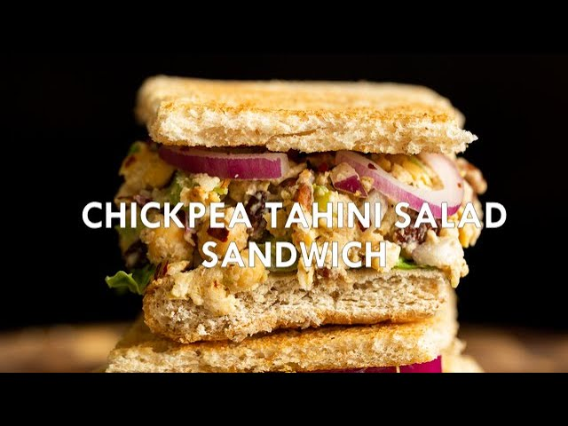CHICKPEA TAHINI SALAD SANDWICH - Easily GF | Vegan Richa Recipes