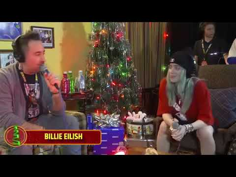 Billie Eilish - Interview with KROQ for Absolut Almost Acoustic Christmas