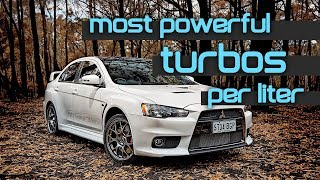 10 Of The Highest Specific Output Turbo Production Cars