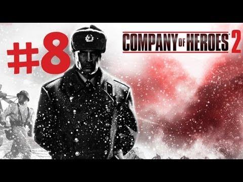 Company of Heroes 2 - Gameplay Walkthrough Part 8 - The Land Bridge to Leningrad - Mission 7