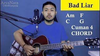 Download lagu Chord Gampang (Bad Liar - IMAGINE DRAGON) by Arya Nara (Tutorial Gitar) Untuk Pemula