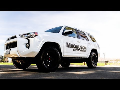 Supercharged Toyota 4Runner By Magnuson | The Boost It Needed