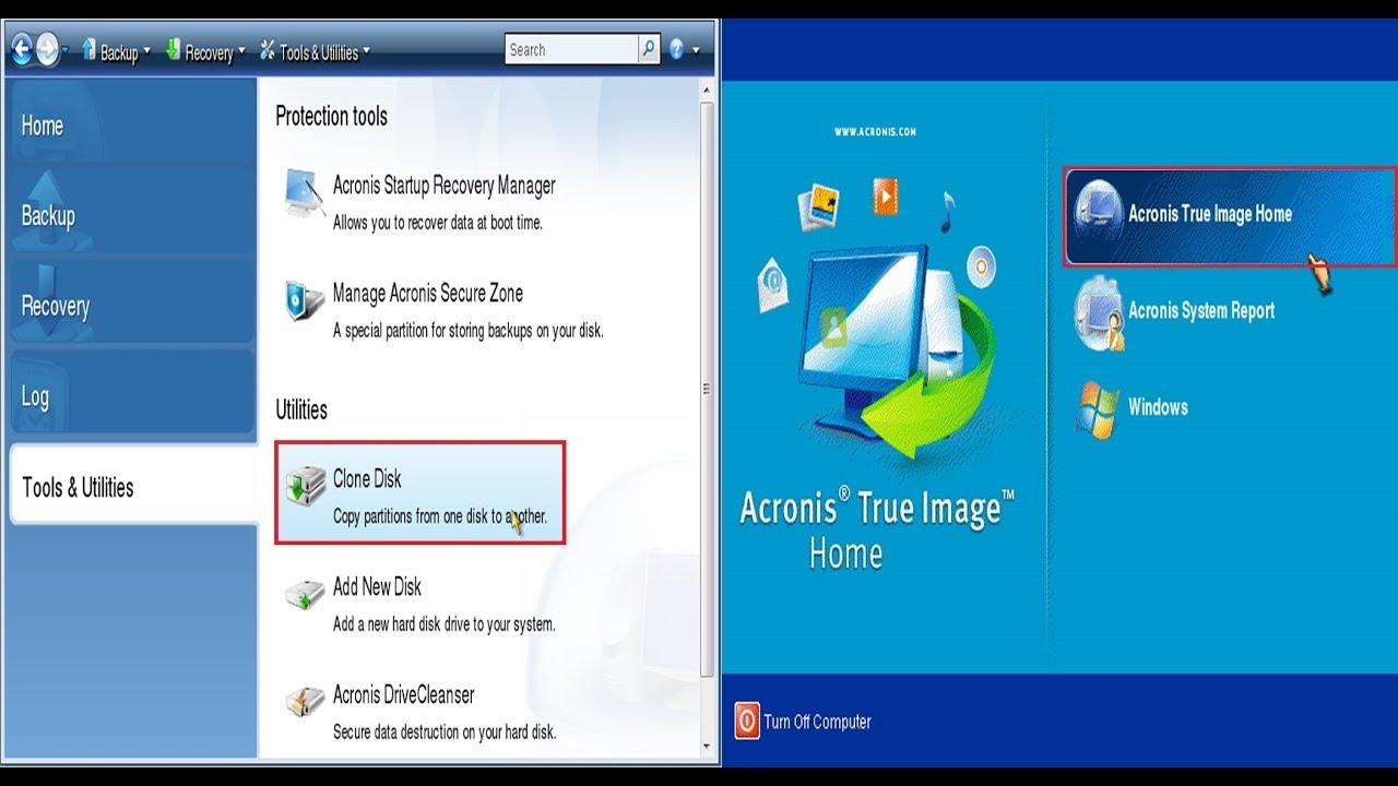 How to clone hard disk drive using Acronis True Image ...