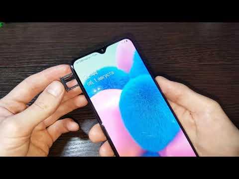 Hard reset Samsung Galaxy A30s сброс настроек графический ключ пароль зависает висит перезагружается