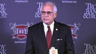 Troy Chancellor Dr. Jack Hawkins, Jr. (Jeremy McClain Introductory Press Conference)