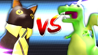 FRANK THE DINO vs SIR MEOWS ALOT