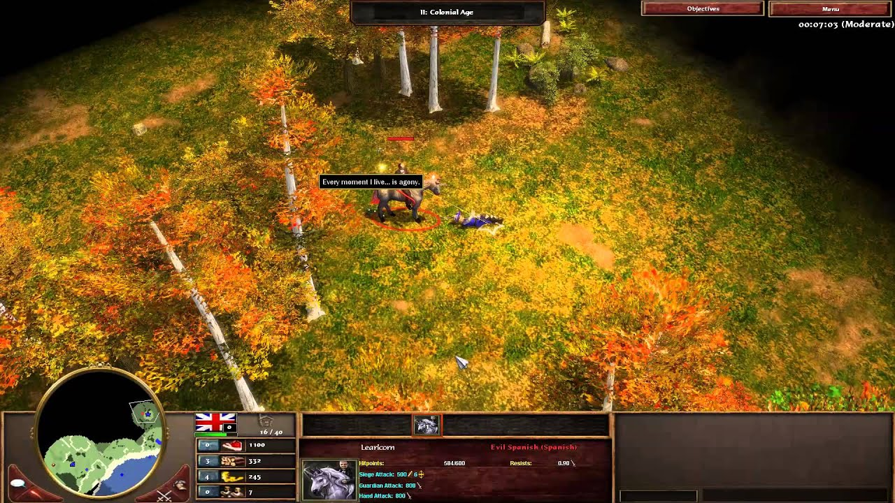 Age of Empires 3 – Secret Boss! [Learicorn]