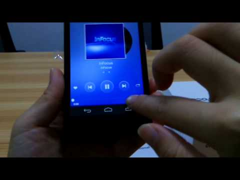 Foxconn Infocus M310 Unboxing & Phone Review ( Music , Game , Video , Call ,Setting ....)