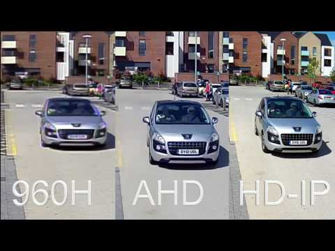 Compare CCTV Recordings, 960H vs AHD- BRICKWOOD SECURITY & SAFETY SYSTEMS