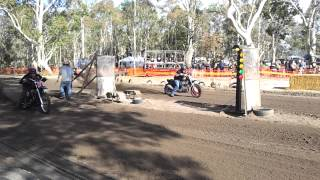 Trench Cutter Racing - Rick Hoffman - Harley Davidson Sand Drag - Bad Penny 2013