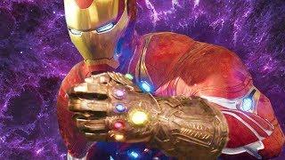 Tony Stark Building His Own Gauntlet - AVENGERS ENDGAME