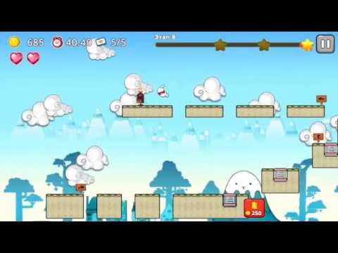 Jumping World (by WeGo Interactive Co.) - platform game for android - gameplay.