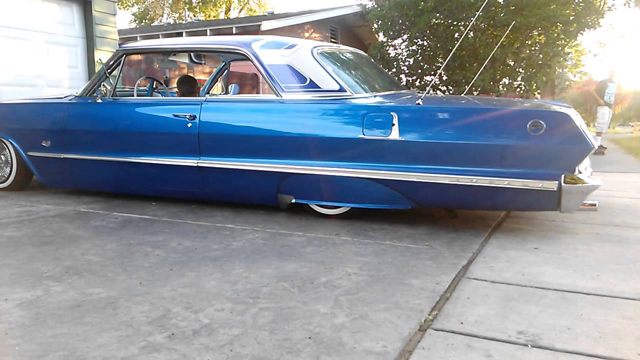 63 impala lowrider hydraullics juiced youtube. Black Bedroom Furniture Sets. Home Design Ideas
