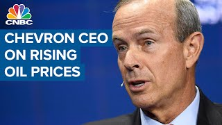 Chevron CEO Wirth on rising oil prices and transition to green energy screenshot 2