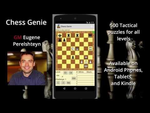Chess Genie App by Grandmaster Eugene Perelshteyn