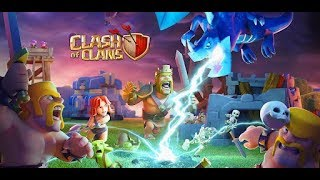 Clash of clans and Brawl stars: clan games: pushing to champs watching replays and base review
