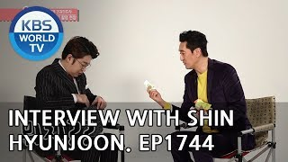 Interview with Shin Hyunjoon [Entertainment Weekly/2019.01.07]