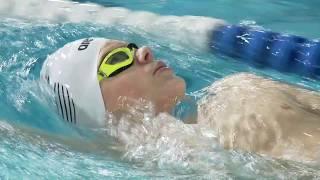 Portrait Taliso Engel Schwimmen