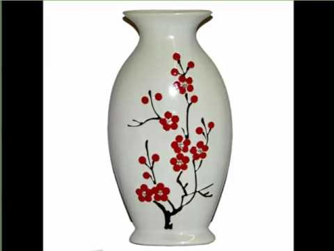 Painted Ceramic Vases Lovely Ceramic Arts Decoration Picture