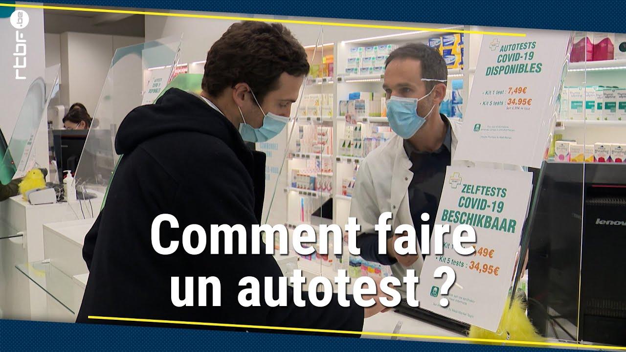 Download Les autotests en vente en Belgique : comment ça marche ? - RTBF Info