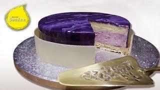 Торт ванильный шибуст и ягодный мусс