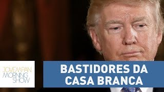 Trump quer proibir a circulação de livro sobre os bastidores da Casa Branca
