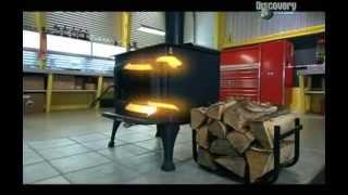 Как работают дровяные печи камины)