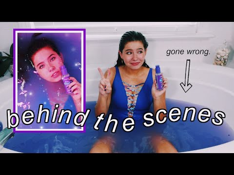 HOW I SHOOT MY BRAND PHOTOS aka bath vlog thumbnail
