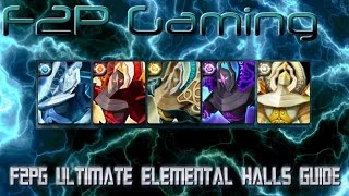 F2PG Summoners War - Ultimate Comprehensive Elemental Halls Guide Magic Light Dark Fire Water Wind