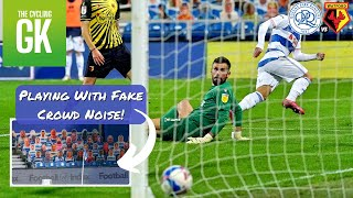 Playing With CRAZY FAKE Crowd Noise At QPR! | Away Days | Ben Foster - TheCyclingGK