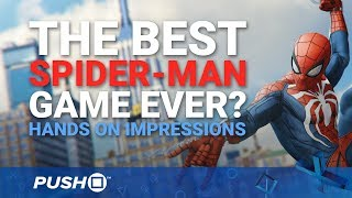 Marvel's Spider-Man PS4 Hands On: The Best Spider-Man Game Ever? | PlayStation 4 | PS4 Pro Gameplay