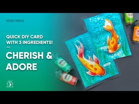 diy-easy-handmade-cards-mixed-media-shwetha's-art