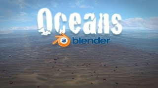 Blender Tutorial for Beginners - Realistic Animated Ocean!