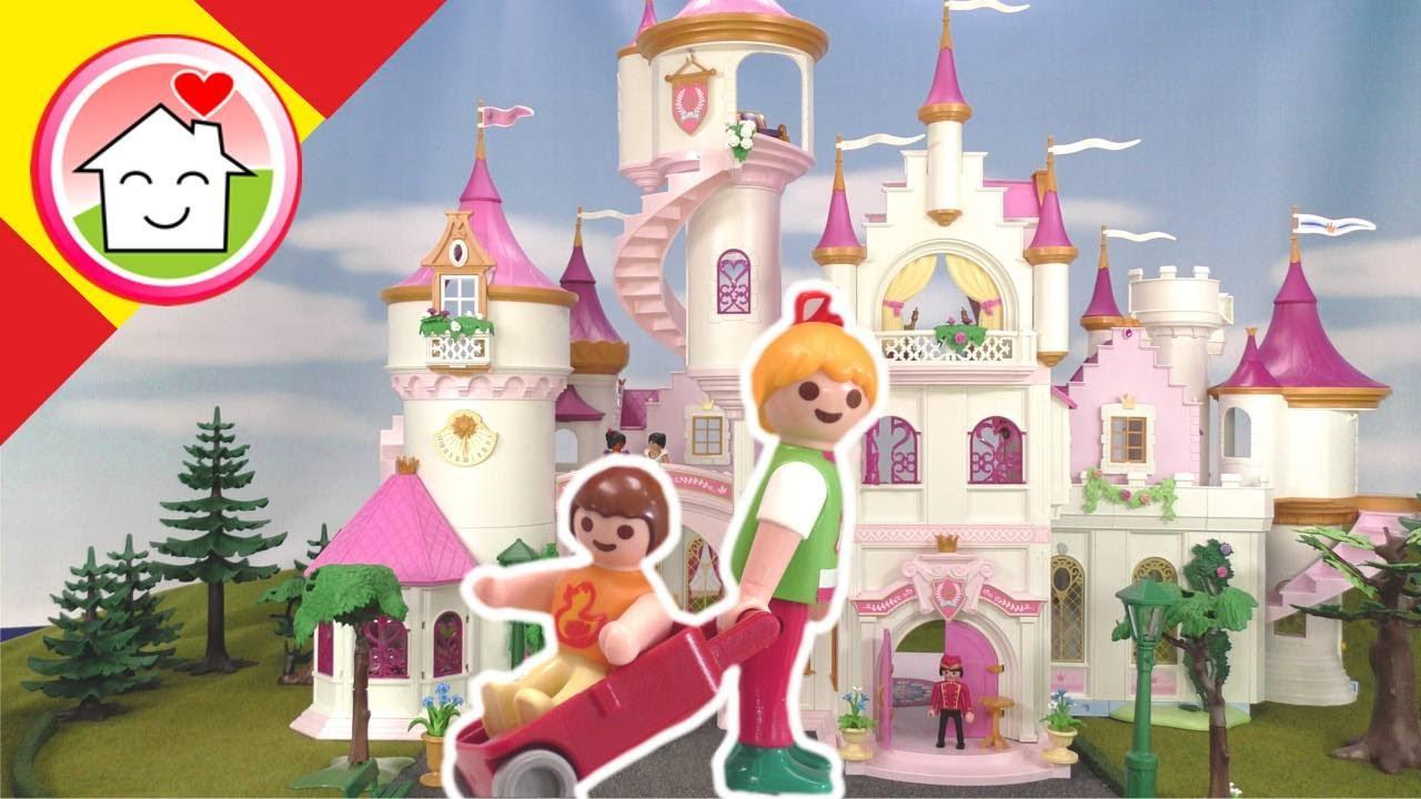 Playmobil en español Vacaciones en el hotel castillo - La familia Hauser