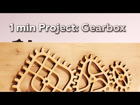 1 min Project: Gearbox