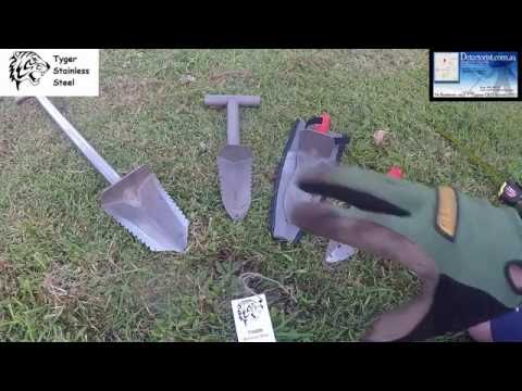 Introducing Tyger Stainless Steel Digging tools Made in Australia