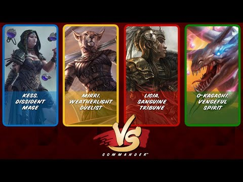 Commander VS S9E2: Kess vs Mirri vs Licia vs O-Kagachi