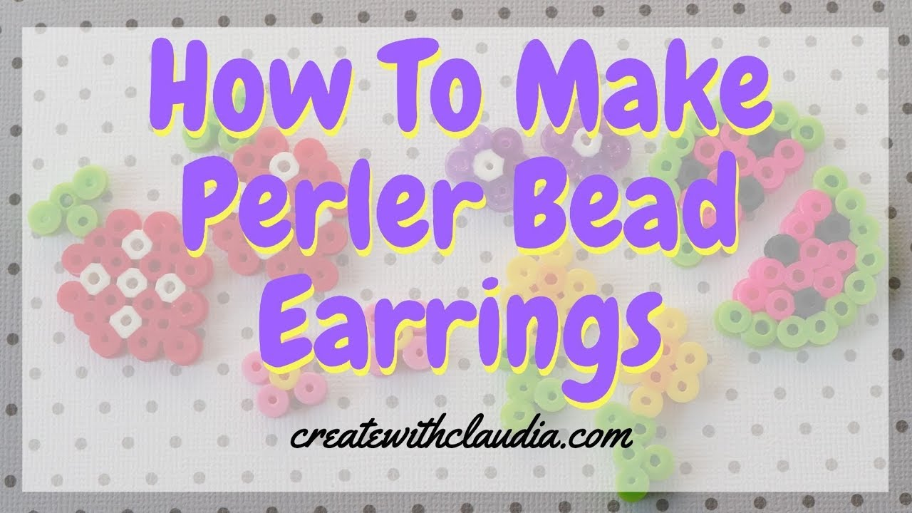 Perler Bead Crafts - 3 Fun and Fabulous Projects | FeltMagnet