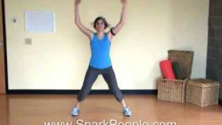 10-Minute Cardio Kickboxing Workout From @SparkPeople thumbnail