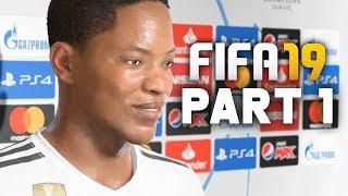 FIFA 19 The Journey Demo Gameplay Walkthrough Part 1 - CHAMPION LEAGUE