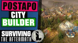 Surviving the Aftermath ☢️ gameplay PL ☢️ Apokaliptyczny City Builder