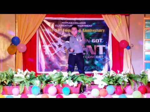 Richmond David Santiago   Marian Got Talent 2015