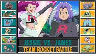 Jessie vs. James (Pokémon Sun/Moon) - Team Rocket Battle