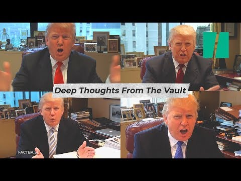 Trump's Deleted Vlogs | Trumpster Fire