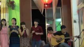 Hoang mang- Sáng tác: Võ Hoài Phúc trình bày: Numin, Anny Dương, Bò Julie, Móm Mi guitarist: Mickey