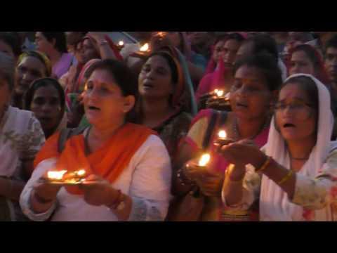 जोधपुर जेल के बाहर पूजन व आरती कर भक्तों ने मनाया गुरुपूर्णिमा महोत्सव | Guru Purnima 2017