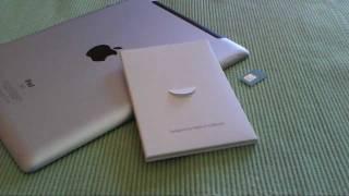 Simkarte in iPad 2,3,4 oder mini einlegen und aktivieren | Tutorial