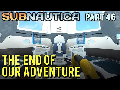 The Ending of our Adventure - Subnatica Ending [#46] with HybridPanda thumbnail