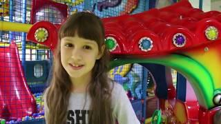 VLOG Детский развлекательный центр Дети веселятся Качели Лабиринты Kid's entertainment center