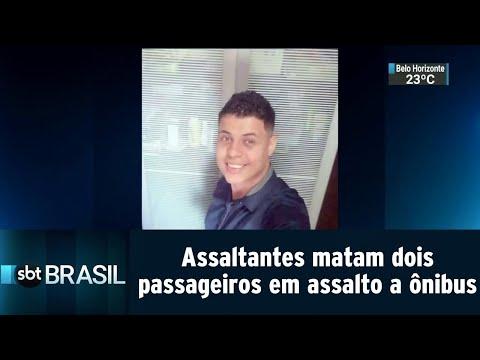 Criminosos matam dois passageiros em assalto a ônibus na Baixada Fluminense | SBT Brasil (31/08/18)